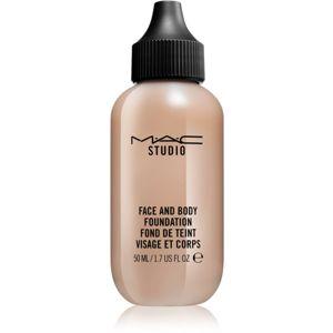 MAC Studio ľahký make-up na tvár a telo veľké balenie C6 120 ml