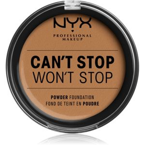 NYX Professional Makeup Can't Stop Won't Stop púdrový make-up odtieň 12.7 Neutral Tan 10,7 g
