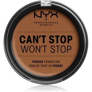 NYX Professional Makeup Can't Stop Won't Stop púdrový make-up odtieň 17 Cappuccino 10,7 g