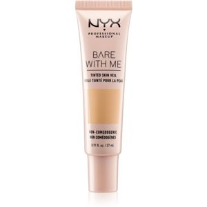 NYX Professional Makeup Bare With Me Tinted Skin Veil ľahký make-up odtieň 03 Natural Soft Beige 27 ml