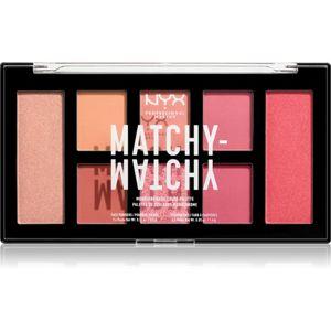 NYX Professional Makeup Matchy-Matchy paletka očných tieňov odtieň 02 Melon 15 g