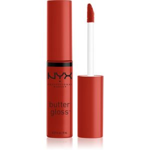 NYX Professional Makeup Butter Gloss lesk na pery odtieň 40 Apple Crisp 8 ml