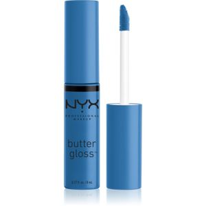 NYX Professional Makeup Butter Gloss lesk na pery odtieň 44 Bluberry Tart 8 ml