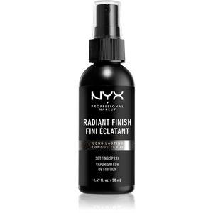 NYX Professional Makeup Radiant Finish Setting Spray rozjasňujúci fixačný sprej 50 ml