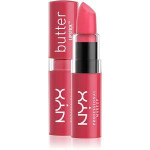 NYX Professional Makeup Butter Lipstick krémový rúž odtieň 02 Fruit Punch 4,5 g