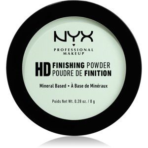 NYX Professional Makeup High Definition Finishing Powder púder odtieň 03 Mint Green 8 g