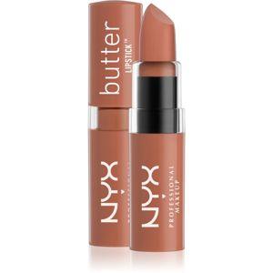 NYX Professional Makeup Butter Lipstick krémový rúž odtieň 27 Snack Shack 4,5 g