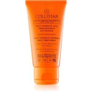Collistar Sun Protection krém na opaľovanie proti starnutiu pleti SPF 15 50 ml