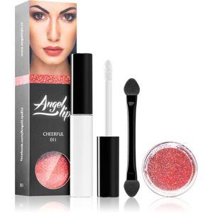 Di Angelo Cosmetics Angel Lips kozmetická sada 11 Cheerful (pre ženy) odtieň