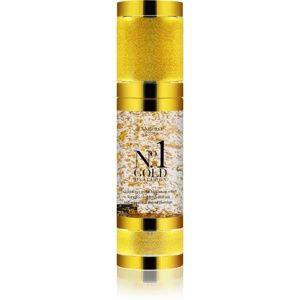 Di Angelo Cosmetics No1 Gold hyalurónové sérum pre okamžité rozjasnenie a omladenie pleti 30 ml