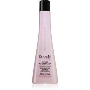 Phytorelax Laboratories Keratin Color šampón pre vlasy poškodené farbením s keratínom 250 ml