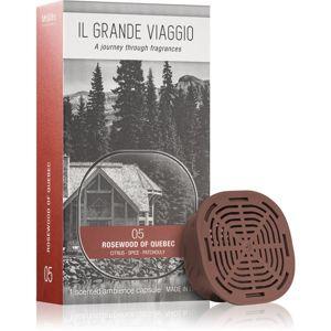 Mr & Mrs Fragrance Il Grande Viaggio Rosewood of Quebec náplň do aróma difuzérov kapsule