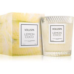 VOLUSPA Macron Lemon Coco vonná sviečka 184 g