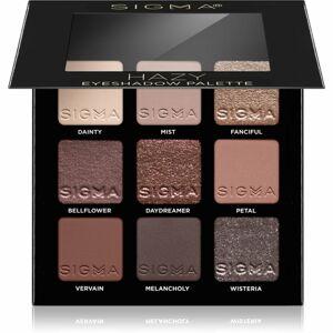 Sigma Beauty Eyeshadow Palette Hazy paletka očných tieňov 9 g