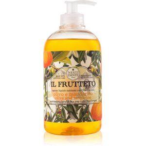 Nesti Dante Il Frutteto Olive and Tangerine tekuté mydlo na ruky 500 ml