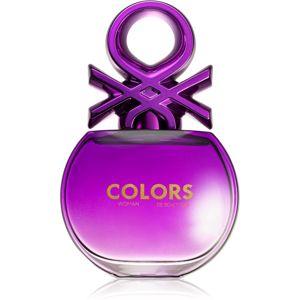 Benetton Colors de Benetton Woman Purple toaletná voda pre ženy 50 ml