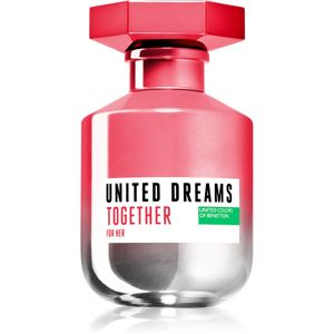 Benetton United Dreams for her Together toaletná voda pre ženy 80 ml