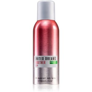 Benetton United Dreams for her Together deospray pre ženy 150 ml