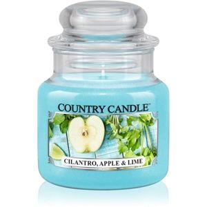 Country Candle Cilantro, Apple & Lime vonná sviečka 104 g