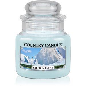 Country Candle Cotton Fresh vonná sviečka 104 g