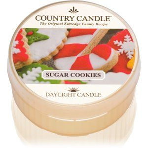 Country Candle Sugar Cookies čajová sviečka 42 g