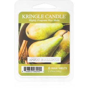 Kringle Candle Anjou & Allspice vosk do aromalampy 64 g