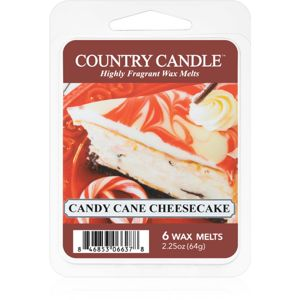 Country Candle Candy Cane Cheescake vosk do aromalampy 64 g