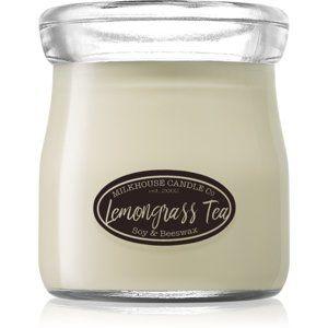Milkhouse Candle Co. Creamery Lemongrass Tea vonná sviečka Cream Jar 142 g