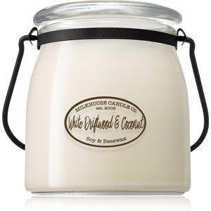 Milkhouse Candle Co. Creamery White Driftwood & Coconut vonná sviečka Butter Jar 454 g
