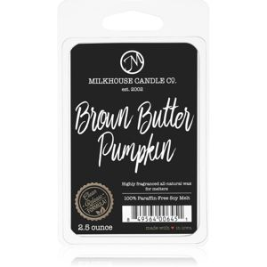 Milkhouse Candle Co. Creamery Brown Butter Pumpkin vosk do aromalampy 70 g