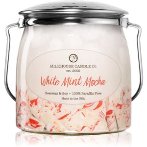 Milkhouse Candle Co. Creamery White Mint Mocha vonná sviečka Butter Jar 454 g