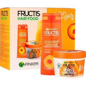Garnier Fructis Papaya Hair Food kozmetická sada I. (pre poškodené vlasy)