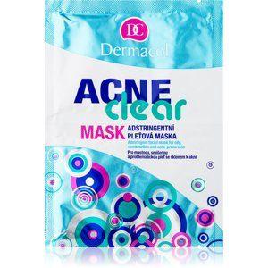 Dermacol Acneclear pleťová maska pre problematickú pleť, akné 2x8 g