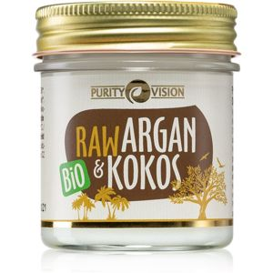 Purity Vision Raw arganový olej s kokosom 120 ml