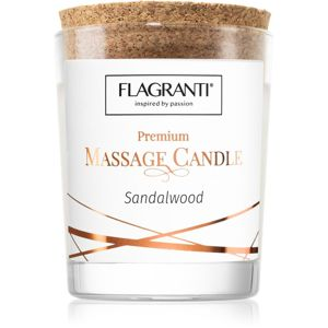 Flagranti Massage Candle Sandal Wood masážna sviečka 70 ml
