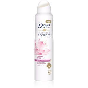 Dove Nourishing Secrets Glowing Ritual antiperspirant v spreji 48h 150 ml