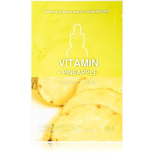 Holika Holika Ampoule Mask Sheet From Nature Vitamin C + Pineapple plátenná maska s energizujúcim účinkom