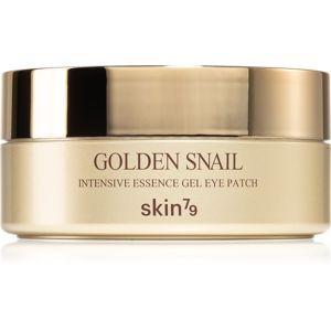 Skin79 Golden Snail revitalizačná hydrogélová maska so slimačím extraktom na očné okolie 60 ks