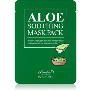 Benton Aloe upokojujúca pleťová maska