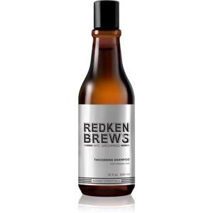 Redken Brews zhusťujúci šampón pre jemné vlasy 300 ml