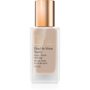 Estée Lauder Double Wear Nude Water Fresh fluidný make-up SPF 30 odtieň 1W1 Bone 30 ml