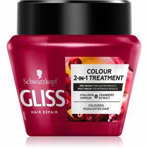 Schwarzkopf Gliss Colour 2-IN-Treatment regeneračná maska pre farbené vlasy 300 ml