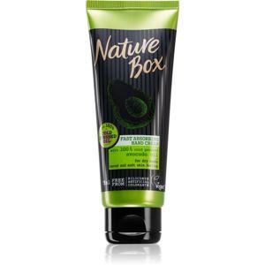 Nature Box Avocado rýchlo sa vstrebávajúci krém na ruky 75 ml