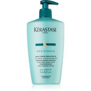 Kérastase Résistance Bain Force Architecte šampón s posilňujúcimi účinkami pre oslabené a ľahko poškodené vlasy 500 ml