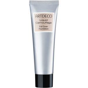 Artdeco Liquid Camouflage Full Cover Foundation make-up s extrémnym krytím pre všetky typy pleti odtieň 4910.32 Sunny Tan 25 ml