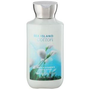 Bath & Body Works Sea Island Cotton telové mlieko pre ženy 236 ml