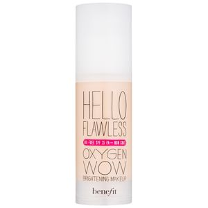 "Benefit Hello Flawless Oxygen Wow tekutý make-up SPF 25 odtieň Beige ""I´m All the Rage"" 30 ml"