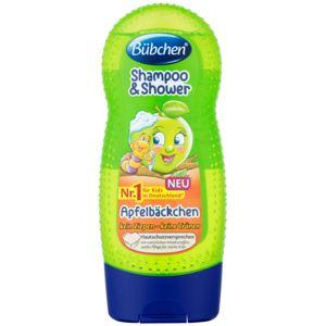 Bübchen Kids šampón a sprchový gél 2 v 1 Green Apple 230 ml
