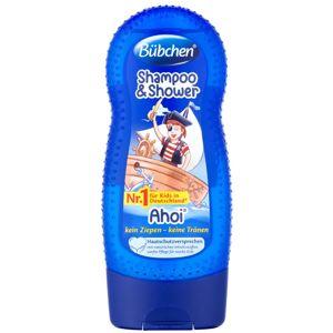 Bübchen Kids šampón a sprchový gél 2 v 1 Hello 230 ml