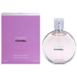 Chanel Chance Eau Vive toaletná voda pre ženy 50 ml